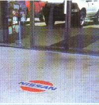 nissan Logo in Floor