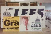 Campaign Sign Montage